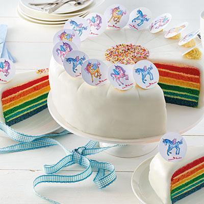 Einhorn Paradies®-Torte